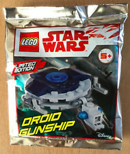 LEGO SET star wars POLYBAG FIGURINE MINIFIG NEUF VAISSEAU droid GUNSHIP LIMITED