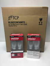 TCP LED Frosted Flame Tip Dimmable E12 15 Watt Equivalent Full Case (48) Bulbs