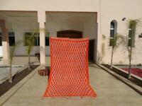 "Vintage Moroccan Handmade Beni Ourain Rug Berber Rug Marmoucha Rug 10'2"" x 5'8''"