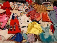Vintage 1960's-1980's Barbie Midge Skipper Ken Doll Clothes Lot