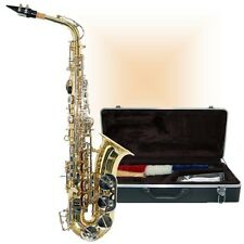 NEW BROADWAY SA2900 ALTO SAX WITH MATCHING DELUXE SAXOPHONE HARDSHELL CASE
