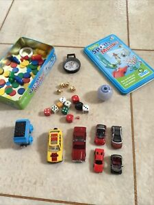 Playing Pieces Counters Dice Bell Smart Style Car Compass False Eye Brio Compass