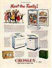 1949 Original Vintage Crosley Appliance & Electronics Magazine Ad (2) photo