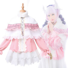Miss Kobayashi's Dragon Kamui Kanna Juegos con disfraces Disfraz de Mucama Con Medias De Diadema
