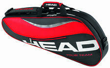 HEAD Tour Team 3R Pro racquet racket tennis bag - Black/Red - Reg $55
