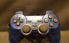 Official Sony Dualshock 2 Clear Cosmic Blue (SCPH10010) Gamepad Controller