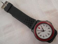 Swiss Army Wrist Watch Vectorinox Red Bezel