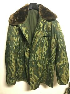 Russian Army FLORA VSR-93 jacket winter with insulation  VDV Type 1990-s 52/4
