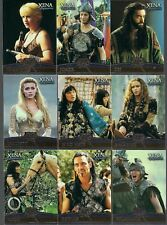 XENA LUCY LAWLESS RENEE O'CONNOR SEASON 4/5 ALLIES FOIL STAMPED CHASE SET F1-F9