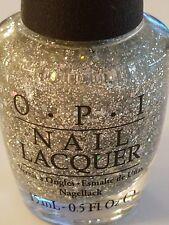 OPI Nail Polish ~* The Glittering Night * Super HTF... Beautiful Silver Glitter!