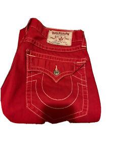 Mens True Religion Jeans Size 34 NWOT