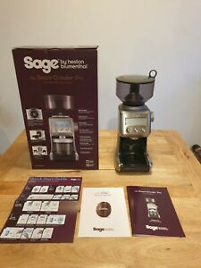 Sage the Smart Grinder Pro Coffee Grinder, Stainless Steel (used-good condition)