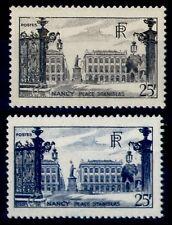 NANCY noir et bleu Oblitérés = Cote 19 € / Lot Timbres France 778 822