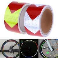 Bicycle Cycling Reflective Bike Sticker Reflector Safety Caution Warning Tape