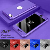 For iPhone SE 2020 (2nd Generation)  360° Shockproof Case Cover + Tempered Glass