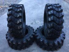 4 Hd Camso Sks753 12 165 Skid Steer Tires For Scat Trak Volvo 12x165