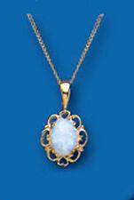 Collares y colgantes de joyería con gemas de oro amarillo, con amor y corazones