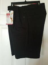 New Men's Levi Strauss Signature Cuffed Denim Shorts Black 36 Waist
