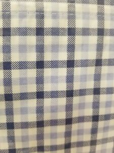 Tommy Hilfiger Blue White Checkered Plaid Twin Sheet Set Boys Bedroom New