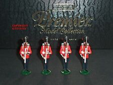 Charles biggs premier 2002 coldstream guards presenting arms toy soldier set