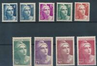 [328861] France 1945-1947 good set of stamps very fine MNH