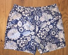 George Floral Mens Swimming Beach  Shorts Size M
