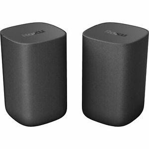 Roku Wireless Bluetooth Speakers  for Roku TV / Streambar / Soundbar  - (Pair)