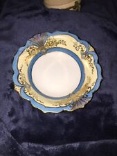 Noritake Gold Trim Blue And Gold Design Small Bowl
