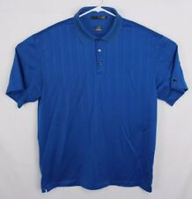 Striped Nike Tiger Woods Tw Collection Polo Golf Shirt Size Xl Rare Dri Fit Z1