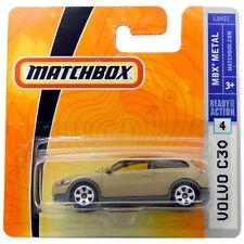"2004 Volvo C30 Gold Matchbox MB711 2007 3"" inch Toy Model Car Rare"