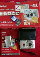 Rollei Flexline 250 - 12 MP - Digitalkamera - silber - in OVP