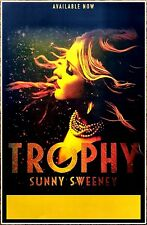 SUNNY SWEENEY Trophy Ltd Ed New RARE Tour Poster +FREE Folk Country Pop Poster!