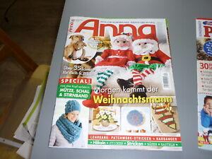 Anna Nr. 12 Handarbeitsideen Weihnachten