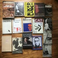 Lot of 23 William S Burroughs Poetry Books Clippings Bukowski Kerouac 1st WOW!