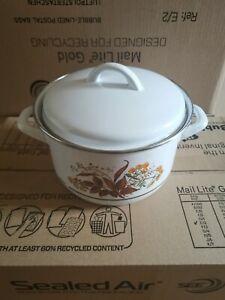 Retro Gorica Cooking Pot -Works On All Hobs Including Induction 218cm D x 130cmH