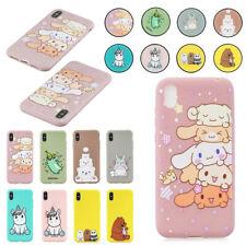 For Samsung A10e A10 A20 A50 A70 Cute Cartoon Pattern Soft TPU Back Case Cover