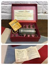 Vintage Icing Piping Set - Syringe - 7 Nozzles - Fulcreem Recipes - Kitchenalia