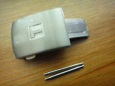 Genuine Tissot Titanium Deployant fold Buckle clasp 20mm T-touch T-race rubber