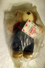 Vtg NIP Wendys Fast Food Farrell Furskin Bear Plush Stuffed Toy 1986 FREE SHIP