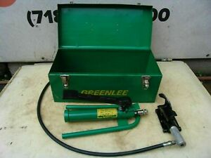 Greenlee 800 Cable Bender with Foot Pump 250-1000 KCMIL Capacity Works Great #2