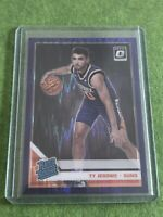 2019-20 Donruss Optic Rated Rookie Purple Shock #167 Ty Jerome RC Suns