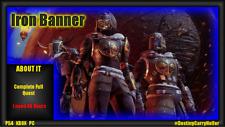 Destiny 2 Iron Banner Quest - PS4, XBOX, PC