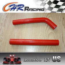 Red Silicone Radiator Hose For Honda ATV Parts 2004 2005 TRX450R 04 05