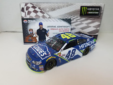 NEW 2017 JIMMIE JOHNSON #48 TEXAS RACE WIN LOWES HITACHI 1/24 CAR IN STOCK