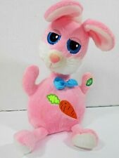 "2010 Kids of America Plush Rabbit Animated Singing Easter 10"" Toy Works Guc"