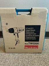 "Makita Tw0200 1/2"" Impact Wrench w/ Detent Pin Anvil"