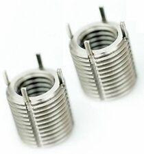 Select Size M2 - M18 Stainless Steel Key Locking Lock Thread Repair Insert
