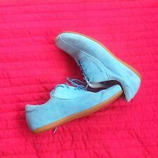 PANAMA Jack, Azul Cuero Con Cordones Zapatos, 7Uk