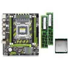X79 X79G Motherboard Set with LGA2011 Combos Xeon E5 2620 CPU 2Pcsx4GB = 8 K6N8