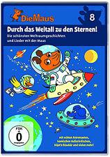 DVD * DIE SENDUNG MIT DER MAUS 8 - DURCH DAS WELTALL ZU DEN STERNEN! # NEU OVP §